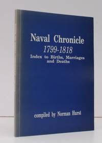 Naval Chronicle 1799-1818. Index to Births, Marriages and Deaths. FINE COPY IN ORIGINAL WRAPPERS
