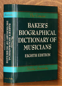 image of THE CONCISE EDITION OF BAKER'S BIOGRAPHICAL DICTIONARY OF MUSICIANS
