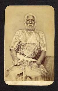 "Carte de visite of Cakobau, ""king"" of the Fiji Islands"