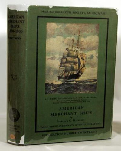 Salem, Mass.: Marine Research Society, 1930. First Edition. First printing Very good+ in dark blue c...