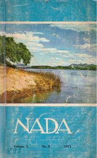 image of NADA VOL X No 3 1971