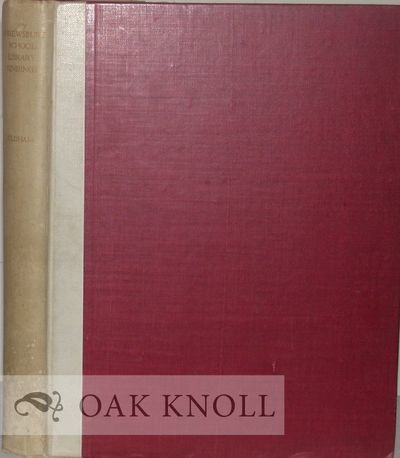 N.P.: Printed for the Librarian of Shrewsbury School at the University Press, Oxford, 1943. white cl...
