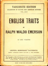 english traits emerson
