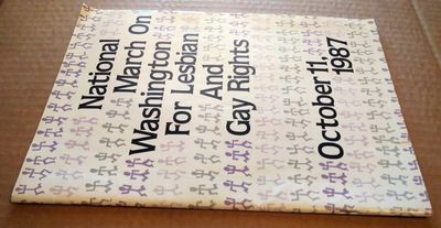 Washington, DC: Author, 1987. Thin pamphlet quarto size in purple, black and grey; VG- condition pap...