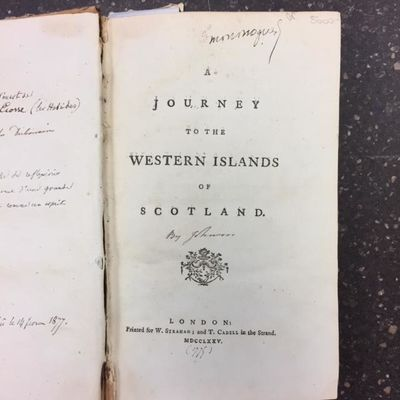 London: W. Strahan; T. Cadell, 1775. First Edition, Second Issue. 8vo, 384pp.; VG; spine tan with si...