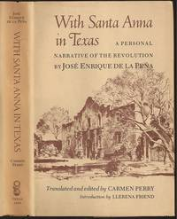 image of With Santa Anna in Texas: A Personal Narrative of the Revolution