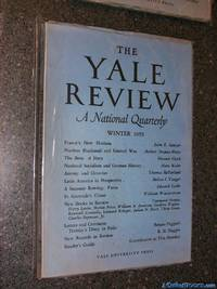 The Yale Review, A National Quarterly, Winter 1959
