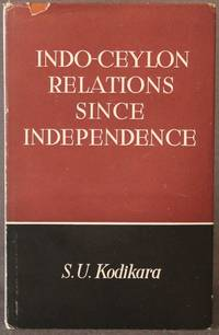 image of INDO-CEYLON RELATIONS SINCE INDEPENDENCE
