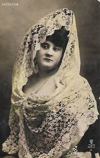 image of Luzbelina - Vintage 1920s Spanish Real Photo Postcard