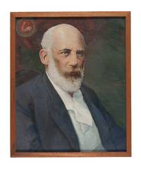 Original Oil Painting of Daniel De Leon, co-founder of the Industrial Workers of the World (I.W.W.) and leading figure in The Socialist Party of America