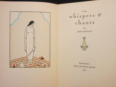 San Francisco: The Lantern Press , 1927. Limited Edition. Hardcover. Very Good Plus. Angelo, Valenti...