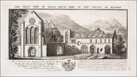 View of Valle Crucis Abby [Abbey], Denbigh