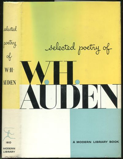 Abaa Selected Poetry Of Wh Auden By Auden Wh Search
