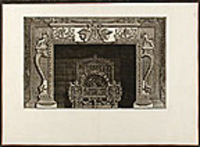 [Rome, 1790. Etched plate, on laid paper, by Piranesi. In good condition with large margins. A fine ...