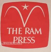 New York: The Ram Press, 1970. paper, square tri-fold brochure in envelope. Ram Press. small 8vo. pa...