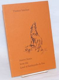 image of Native notes from the land of earthquakes_fire