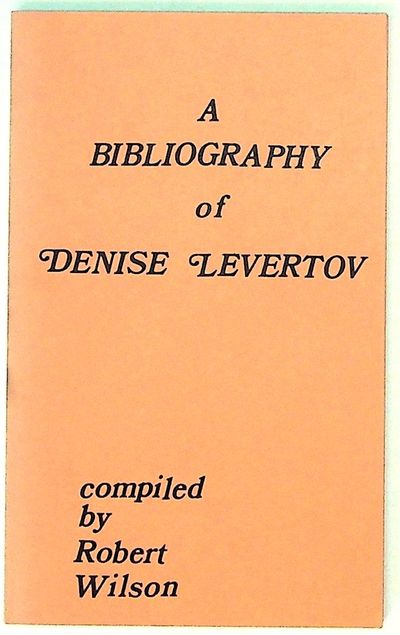 New York: Phoenix Book Shop, 1972. Paperback. Very Good. Paperback. First edition. Salmon paper wrap...