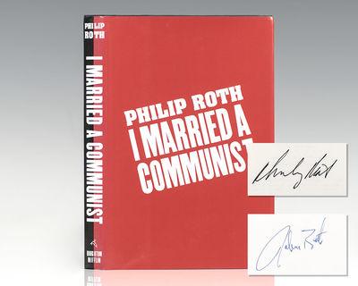 Boston: Houghton Mifflin Company, 1998. First edition. Octavo, original half cloth. Signed by Philip...