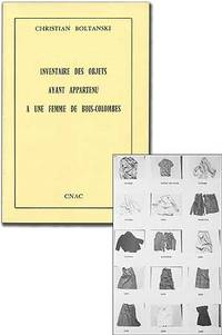 (Paris): CNAC, 1974. Softcover. Fine. First edition. Octavo. Printed wrappers as issued. As new. A w...