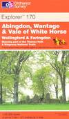 image of Abingdon, Wantage and Vale of White Horse (Explorer Maps)