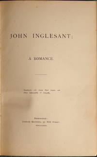 John Inglesant, A Romance