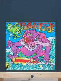 The Outsideinside: side A. 9:33, side B. Stripper's Lament  (7 inch vinyl record in slipcase) by Frank Kozik (cover artist) - 1st Edition  - 1995 - from Tree Frog Fine Books and Graphic Arts (SKU: 19101408)