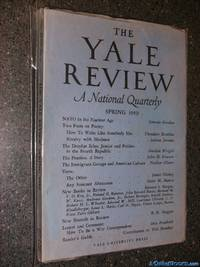 The Yale Review, A National Quarterly, Spring 1959