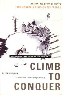 Climb to Conquer : Advance Uncorrected Proof