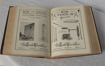 New York & Chicago, 1908. Thick quarto. 12 issues of this professional journal for the ice trade. Pr...