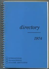 1974 Directory: International Transactional Analysis Association