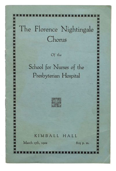 Concert by The Florence Nightingale...