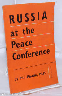 image of Russia at the Peace Conference