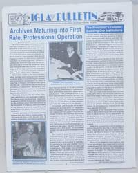 IGLA Bulletin: #9, Winter, 1993/94