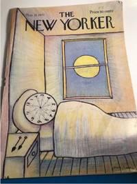 NEW YORKER MAGAZINE MAY 15 1971 (WOODY ALLEN, BANNAS & GARRISON KEILLOR,  THE NEW BASEBALL)