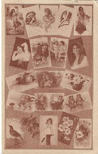 image of Sepiatone Postcard Depicting a Collage of Postcards