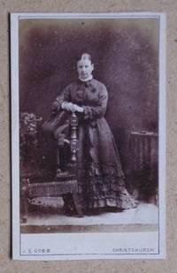 Carte De Visite Photograph. Portrait of a Young Woman.