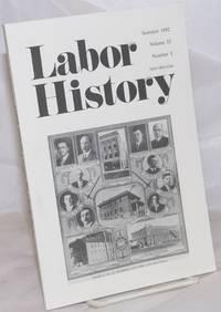 image of Labor history. vol 33, no. 3, Summer, 1992