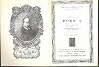 Poesia ; edición, estudio y notas por Jose Manual Blecua.