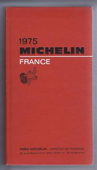 1975 Michelin Red Guide France