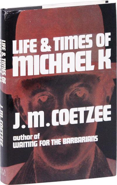 London: Secker and Warburg, 1983. First U.K. Edition. Hardcover. First Impression. Octavo (23cm); bl...