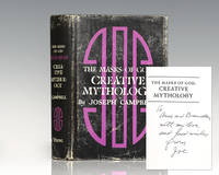 The Masks of God: Creative Mythology. by  Joseph Campbell - Signed First Edition - 1968 - from Raptis Rare Books (SKU: 101266)