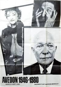 Avedon 1946-1980 (Original Exhibition Poster)