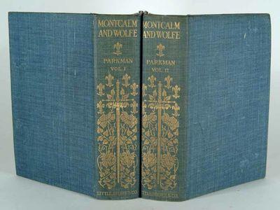 1899. 45 GORGEOUS PHOTOGRAVURE ILLUSTRATIONS; IN ORIGINAL CLOTH DUST JACKETS PARKMAN, Francis. MONTC...
