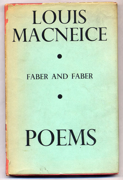 London: Faber and Faber, 1937. Hardcover. Very Good/Fair. Later printing. Very good in a fair dustwr...