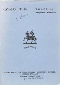 Catalogue 43/n.d. : Miscellaneous Books.