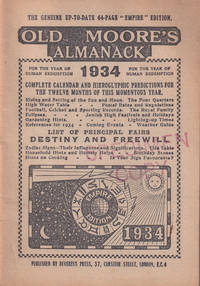 Old Moore's Almanack, for the Year of Human Redemption 1934