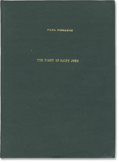N.p.: N.p.. Draft script for an unproduced film. Three pilgrims, traveling on St. John's Eve must wo...