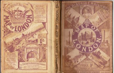 London: Partington Advertising Company (Waterlow & Sons, printers), n.d. (circa 1900). 6th edition. ...