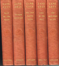 Set of Zane Grey Collier 5 Vol. 1933