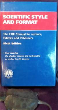 image of Scientific Style and Format: the Cbe Manual for Authors, Editors, and Publishers